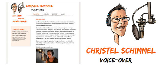 Christel Schimmel, Voice-over
