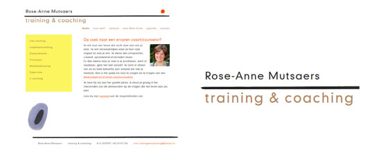 Rose-Anne Mutsaers, training & coaching